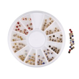 $enCountryForm.capitalKeyWord Australia - BEAUTY7 1 Wheel Square Mixed Rivets Nail Studs 3D Nail Art Decoration Rhinestone Manicure UV Gel Studs Tips Stickers