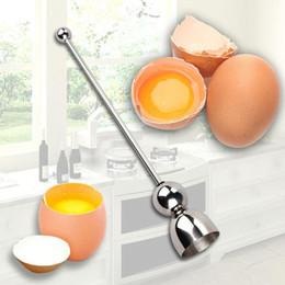 New Pc Gadgets Australia - 1 PC New Stainless Steel Raw Eggshell Topper Cutter Egg Opener Kitchen Tools Gadgets VBR37 P30