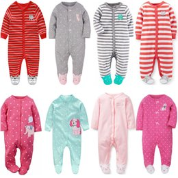 $enCountryForm.capitalKeyWord Australia - 2018 Newborn Baby Clothes Infants Baby Pajamas Overalls Jumpsuits Bebes Climb Clothing Cotton Toddler Boys Sleep Wear Bodysuit MX190720