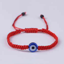bohemian turkish jewelry NZ - Turkish Eye Evil Eye Red String Bracelets Friendship Bangles Gift For Women Jewelry