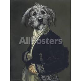 $enCountryForm.capitalKeyWord Australia - Wall Art dog portraits Oil Painting Thierry PonceletThe Archduke Hand painted
