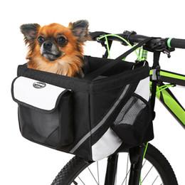 Blue Dog Carriers Australia - Lixada Cycling Top Tube Frame Front Carrier Bag Bicycle Handlebar Front Bag Box Pet Dog Cat Carrier Bycicle Accessories