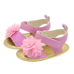 baby first walking sandals Australia - lace flower baby girl shoes baby shoes infant shoes girls sandals summer newborn sandals Moccasins Soft First Walking Shoe A6922