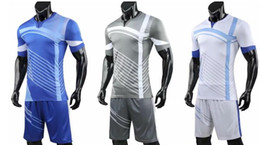 custom soccer team uniforms NZ - customized blank Soccer Jerseys Sets,Custom Team Soccer Jerseys Tops With Shorts,fashion Training Running Jersey Sets Short,soccer uniform