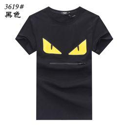 $enCountryForm.capitalKeyWord Australia - 2019 Top quality cotton eye printed women's T-shirt casual o collar men's T-shirt new design women's T-shirt