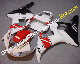 Plastic Motorcycle Fairings Australia - YZF 600 R6 2005 ABS Plastic Fairing For Yamaha YZFR6 05 Motul Fairings Motorcycle Red White Black (Injection molding)