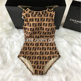 Women Hot Sale FF Letter Fashion Swimwear Summer Classic Design Printed Bikini Casual Beach High Quality Europe Swim Wear on Sale