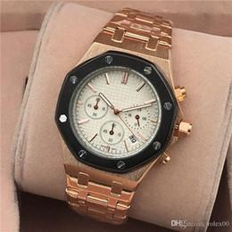 Luxury Gifts NZ - 2020 New All Subdials Work Men Watches Hardlex Sport Quartz Wristwatches Stopwatch Luxury Watch Top Brand For Men Relojes Best Gift