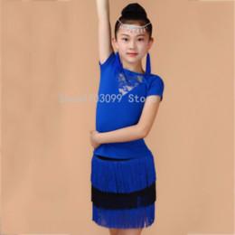 Discount women skirt models - 2019 new models Hot Selling Girl Latin Dance Skirt Tassel Comfortable Skirts School Girl Performance Garment