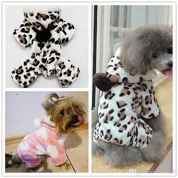 $enCountryForm.capitalKeyWord NZ - F50 puppy Coral velvet jumpsuit Pet dog coveralls pet fleece hoodies puppy clothes deer design s-xxl