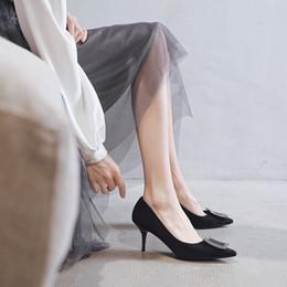 $enCountryForm.capitalKeyWord Australia - Attractive2019 Beautiful Generation Woman Sexy Sharp Single Shoe Autumn Fine With High-heeled Red Wedding Women's Shoes 292058