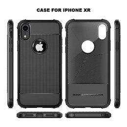 $enCountryForm.capitalKeyWord NZ - For iPhone X XR XS Max case Ultra-thin textured Silicone TPU soft cover for iPhone 6 6S 7 8 plus case shockproof bumper coque