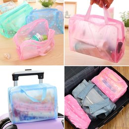 transparent bag for cosmetics Australia - waterproof PVC cosmetic storage bag women transparent organizer for Makeup pouch compression Travelling Bath bags #0127