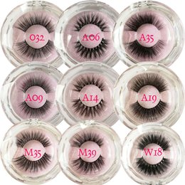 Cheap Cotton Stalks Australia - New styles popular 3d mink eyelashes pink glitter round box customized label High quality natural style 3d min hair lashes with cheap price