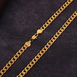 Various Gold Alloys NZ - Elegant Men's Various models Twisted twist Necklace 6 mm wide 18K gold-plated Necklace Alloy Material Don't fade Hip hop Necklace,16~32 inch