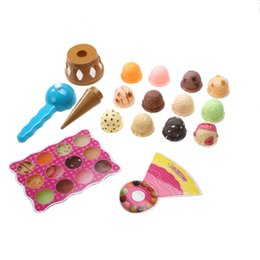 Kids Pretend Australia - pretend Kids Pretend Simulation Food Kitchen Toy Children Ice Cream Stack Up Play Tool Children Educational Toys Girls Gifts