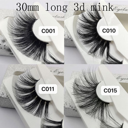 00843076c78 Big fake lashes online shopping - 2019 NEW mm D Mink Eyelashes Style False  Eyelashes Big