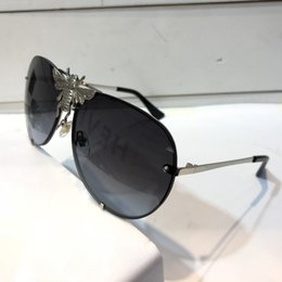 $enCountryForm.capitalKeyWord Australia - 2238 The latest style fashion designer sunglasses big size cat eye color matching frame top quality fine print leg protection eyewear