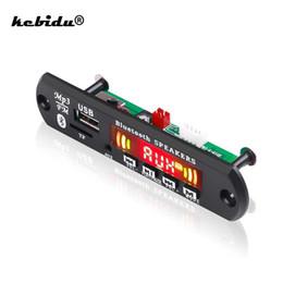 $enCountryForm.capitalKeyWord Australia - 5V 12V Wireless Bluetooth Audio Decoder Board Module Car MP3 Player WMA WAV FLAC APE AUX 3.5MM USB TF FM Decoder Board Speaker