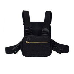 2019 Mini Men Chest Rig Streetwear Outdoor Sports Waist Bag Climbing Shoulder Bag Phone Money Belt Tactical Chest on Sale