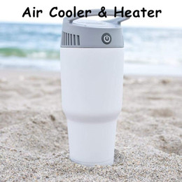 $enCountryForm.capitalKeyWord Australia - Home Heater Air Cooler 3 Colors Handy Evaporative Fan Air Conditioner Portable Airwirl Space Heater Room Warmer 2 in 1 For Sports Outdoors
