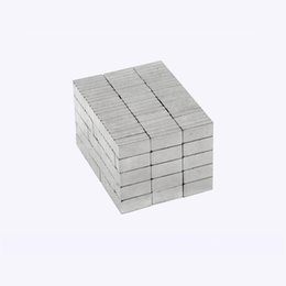 magnet 5mm UK - 100pcs real N33 rare earth cuboid magnet 10*5*1mm-5mm permanent magnet super strong neodymium magnet with Nickel coating free shipping