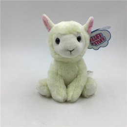 Wool Cloth Soft Australia - 20170718 The Hot Sales Lovely Sheep Wool With Soft Little Stuffed Animals And Plush Toy Goat Cloth Doll Gift Free Shipping
