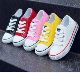 Kids Canvas Shoes Australia - Canvas Children Shoes Sport Breathable Boys Sneakers Brand Kids Shoes for Girls Jeans Denim Casual Child Flat Canvas Shoes