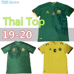 dc8f9cf1e new 2019 2020 Cameroon soccer jersey Eto o home ABOUBAKAR Anguissa CHOUPO  MOTTING kunde Vincent man national team football shirt