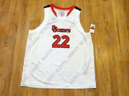Cheap custom St John s Red Storm Basketball Jersey White Red Black Stitched  Customize any number name MEN WOMEN YOUTH XS-5XL 1e258a299
