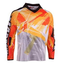 sky gps NZ - New arrival 2019 moto Jersey Moto GP bike spexcel DH MX mtb Jersey motocross Bicycle Cycling downhill jersey Quick dry smooth