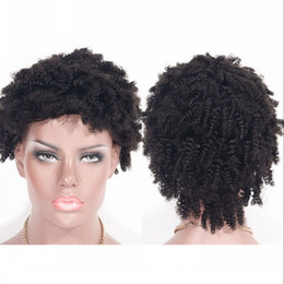 $enCountryForm.capitalKeyWord Australia - Afro Kinky Curly Human Hair Lace Front Wigs Cambodian Virgin Hair Wigs Tight Curly Lace Wig for Black Women Ping
