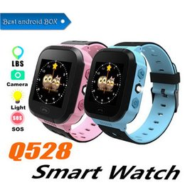 $enCountryForm.capitalKeyWord Australia - Q528 Smart Watch Children Wrist Watch Waterproof Baby Watch With Remote Camera SIM Calls Gift For Kids pk dz09 gt08 a1l SmartWatch