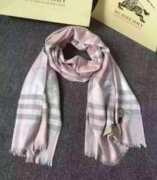 Tartan Scarf Thick Australia - 180*70cm plaid imitation Cashmere long and thick scarf New warm shawl for autumn and winter best gift for your party