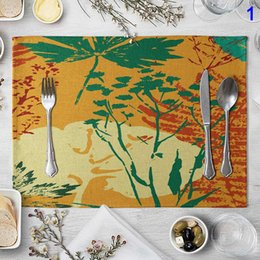 $enCountryForm.capitalKeyWord Australia - 1 Pcs Table Place Mat Placemat Pad Colorful 40x30cm For Home Kitchen Dining Room FPing