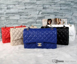 Großhandel Fashion Classic Brand Designer Tasche Frauen Luxus Schulter C Tasche Leder Handtaschen Tote Womens Chain Female Bags
