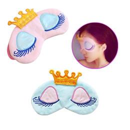 Wholesale 2019 Kid Sleeping Mask Beauty Cartoon Cute Eye Mask Blindfold for Kid s Sweet Dreams