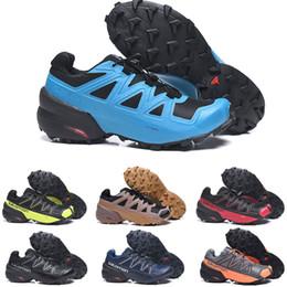2020 Hiking outdoor Shoes Climbing Mountaineering sneaker Men women's sneaker Speed Cross 5 Eur40-46 on Sale