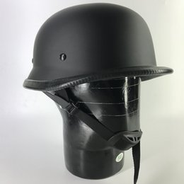 german motorcycle helmet Australia - SALE Motorcycle Helmet German Style Open Face Helmets Vintage Cruiser Chopper Helmets Motorcycle Helmet