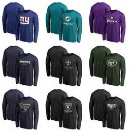 795f4b09b74cc mens designer luxury t shirts Men Hoodie 2018 Designer Hoodies Rams  Dolphins Vikings Patriots Saints Giants Long Sleeve Performance T-shirt