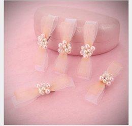 $enCountryForm.capitalKeyWord Australia - Butterfly-tied Hairpin Bride Crystal Headdress White Wedding Dress Accessory Bride Handmade Headdress