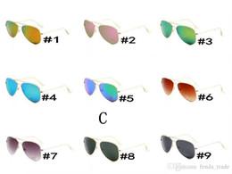 pc free 2019 - 9 colors free shipping HOT SALE summer GOGGLE man UV400 protection Sun glasses Fashion men women Sunglasses unisex glass