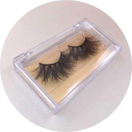 Hot Transparent Suit Australia - 2019 new hot 3d faux mink eyelashes with transparent custom box