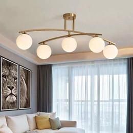 $enCountryForm.capitalKeyWord NZ - Modern Gold Ceiling hanging Light Chandeliers Suspension Lamp Mid Century Brass Sputnik Chandelier Free Shipping
