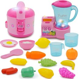 $enCountryForm.capitalKeyWord NZ - Classic Cooking Toys For Children Pretend Play Rice Cooker Food Set Kids Kitchen Educational Toy Play House Toys For Girls