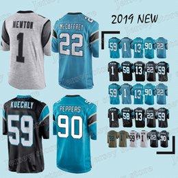 e74b694b4 Carolina 77 Panther jerseys 59 Luke Kuechly 22 Christian McCaffrey 58  Thomas Davis 18 19 new jersey