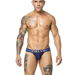 24106c4df000 Sexy Men's G-Strings underwear men's hot selling pass pure cotton men's  briefs including packaging on sale