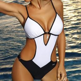 $enCountryForm.capitalKeyWord Australia - Sexy Slim Fit One Piece Swimsuit Large Size Swimwear Women Push Up Swimsuits Body 2019 Female Beach Wear Bathing Suit Bather XXL