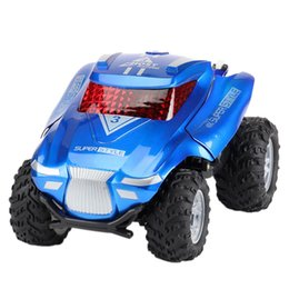 remote control stunt car UK - 2.4G Stunt Deformation Car Remote Control Toy Car Electric Remote Control Dump Truck
