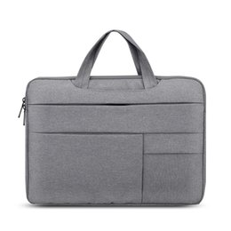 $enCountryForm.capitalKeyWord Australia - Laptop Sleeve Bag High Quality for Macbook Air 13 Case Nylon Laptop Case 15.6 inch Bags for Men Women Zipper Unisex Backpack
